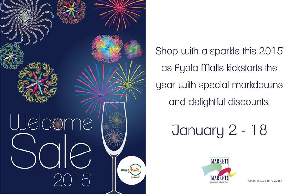 Market Market Welcome 2015 Sale January 2015