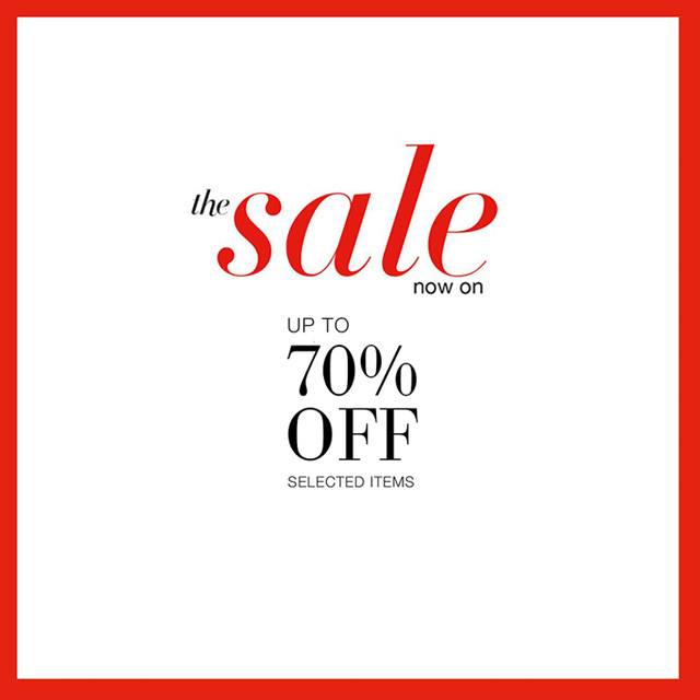 Marks & Spencer End of Season Sale - Further Reductions January 2015