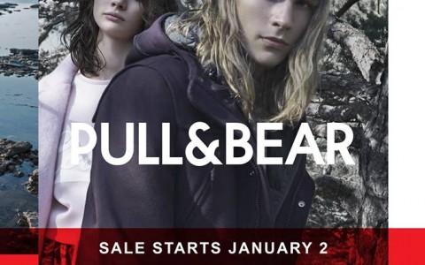 Pull&Bear Fall/Winter Sale January 2015