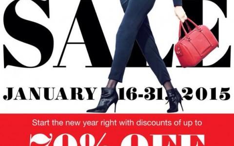 Rustan's Kick Off Sale January 2015
