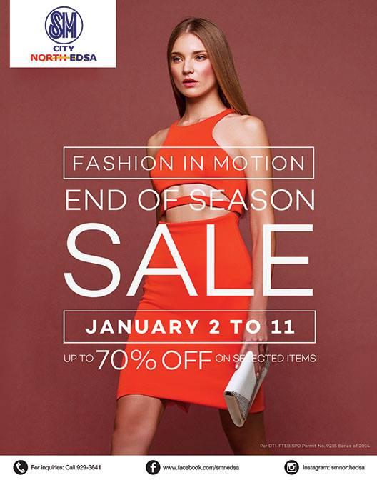 SM City North Edsa End of Season Sale January 2015