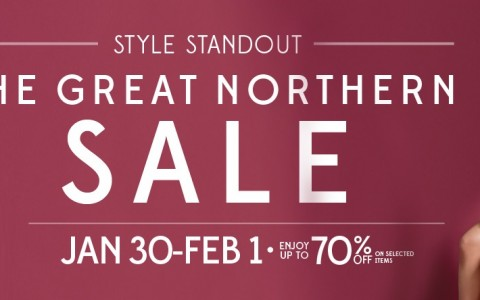 SM City North Edsa The Great Northern Sale January - February 2015
