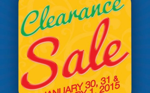 Sta. Lucia Mall Clearance Sale January - February 2015