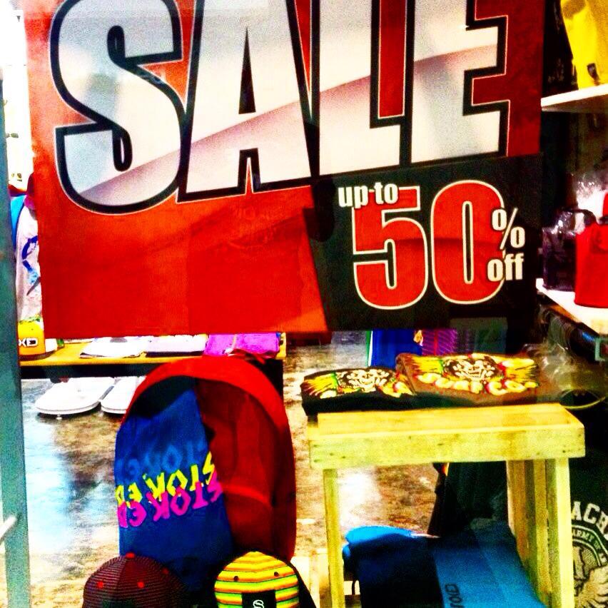 StokedInc. & Ripcurl Sale January 2015