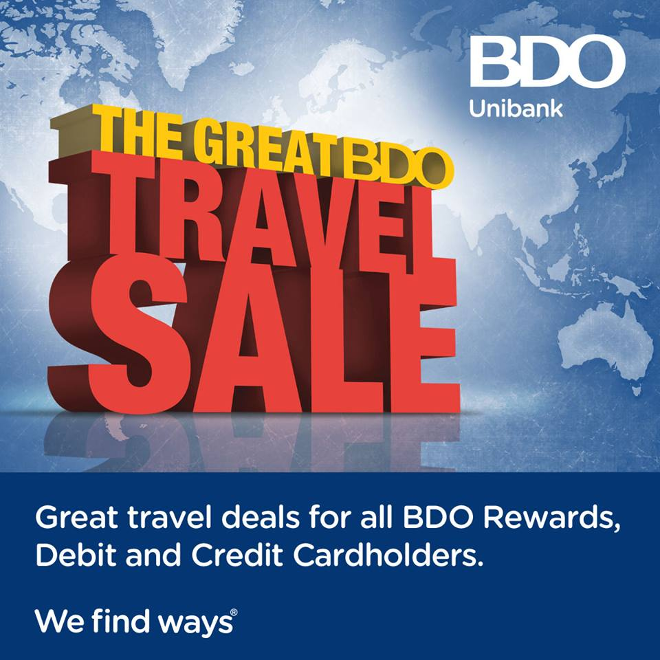 The Great BDO Travel Sale @ SMX Convention Center Taguig January - February 2015
