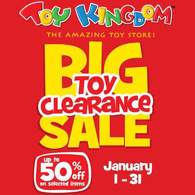 Toy Kingdom Big Toy Clearance Sale January 2015