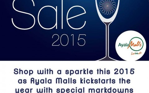 Trinoma Welcome 2015 Sale January 2015
