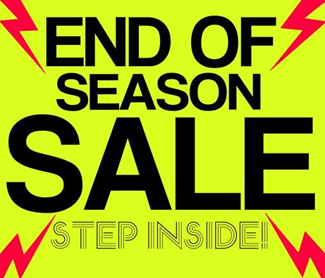 Wade Shoes and Accessories End of Season Sale January - February 2015
