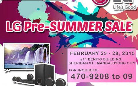 Automatic Centre LG Pre-Summer Sale @ Benito Building February 2015