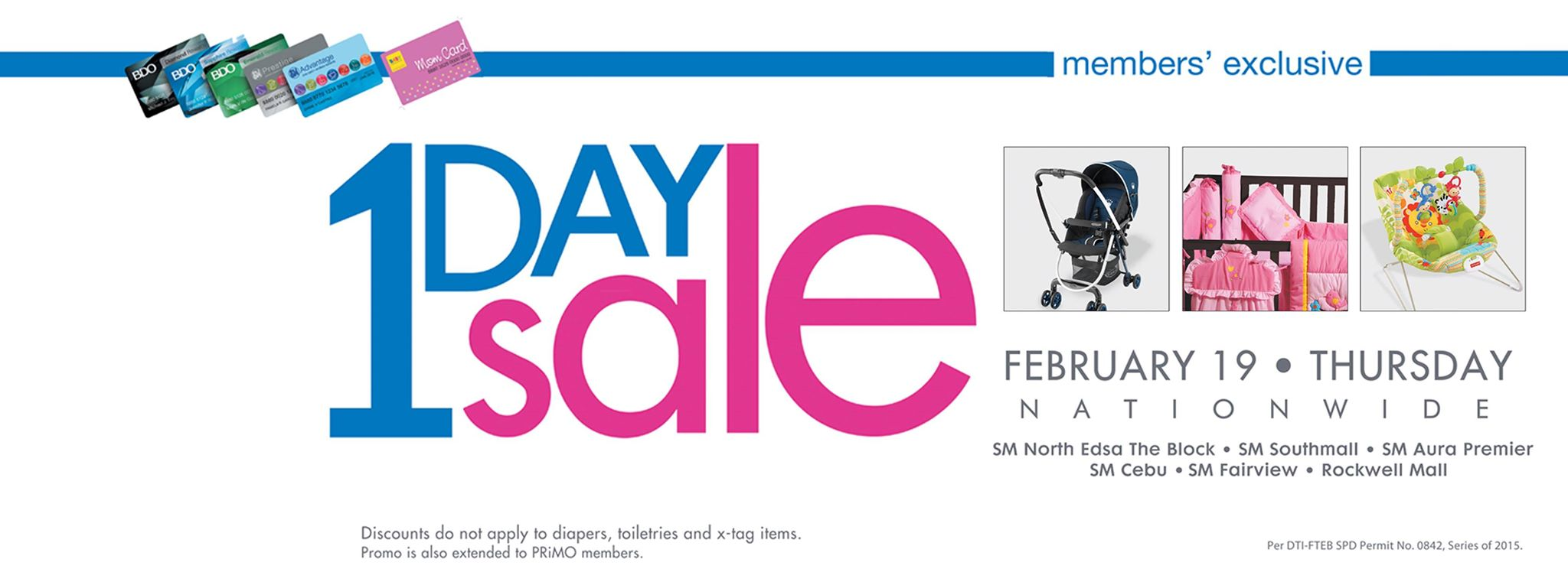 Baby Company 1-Day Sale February 2015