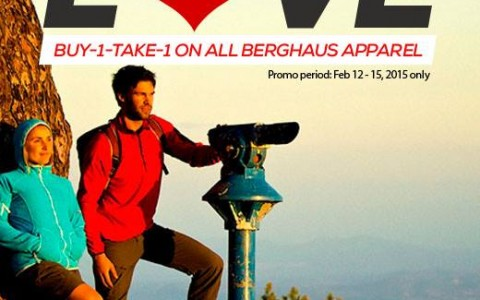 Berghaus Buy 1 Take 1 Promo February 2015