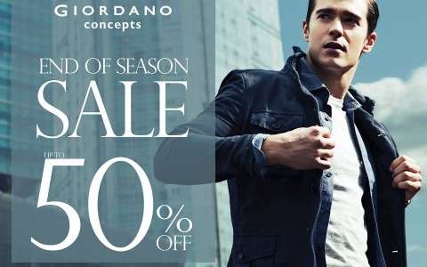 Giordano Concepts End of Season Sale February 2015