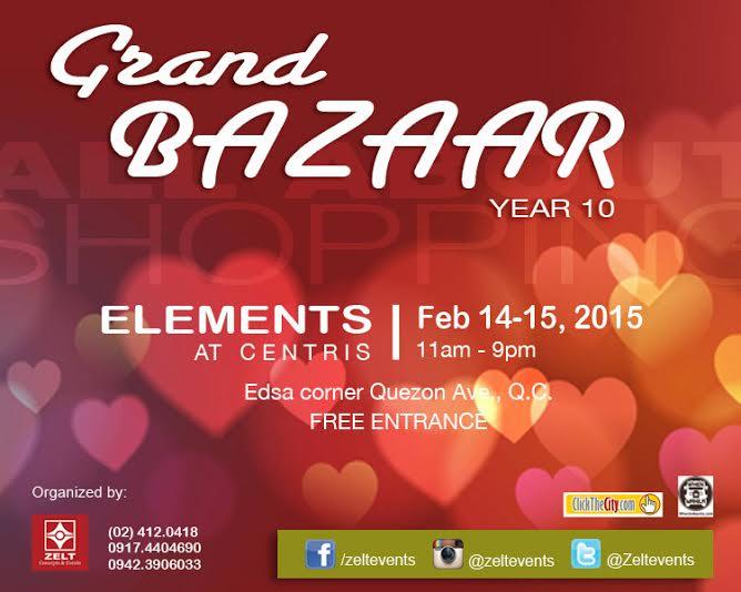 Grand Bazaar @ Elements, Eton Centris February 2015