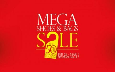 Mega Shoes & Bags Sale @ SM Megatrade Hall February - March 2015