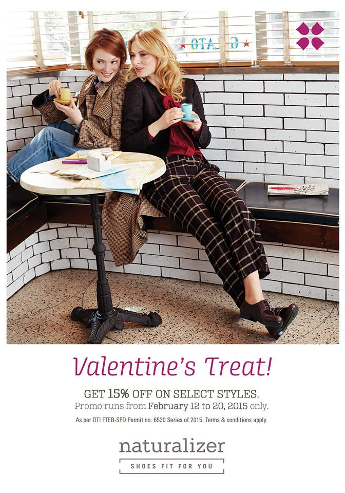 Naturalizer Valentine's Treat February 2015