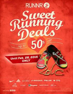 Runnr Sweet Running Deals February 2015