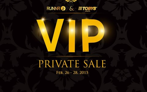 Runnr and Toby's Sports Private VIP Sale @ Quorum Center February 2015