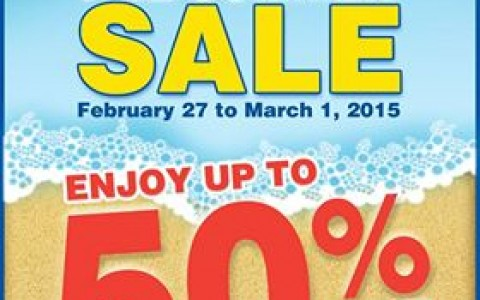 Shopwise Pre-Summer Sale February - March 2015