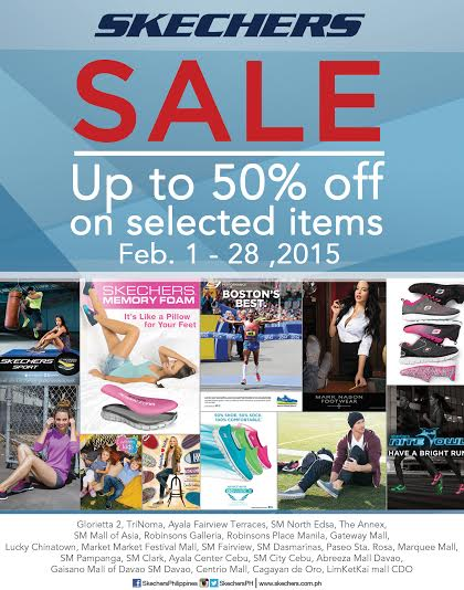 Skechers Sale February 2015