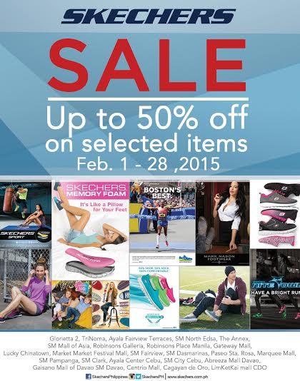 Skechers Sale February 2015