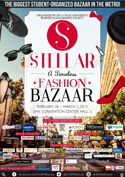 Stellar A Timless Fashion Bazaar @ SMX Convention Center February - March 2015