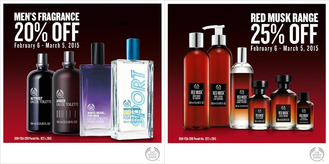 The Body Shop Seductive Deals February - March 2015