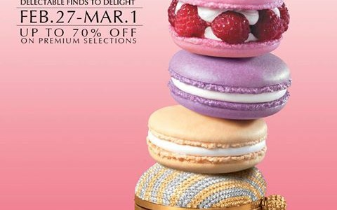 The Podium 3-Day Sale February - March 2015