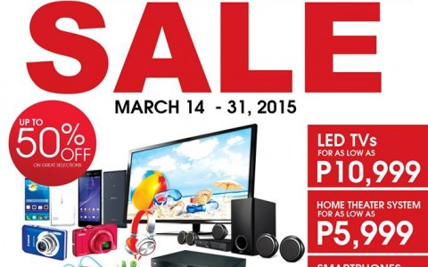 AV Surfer Grand Summer Sale @ Sony Service Center Building March 2015