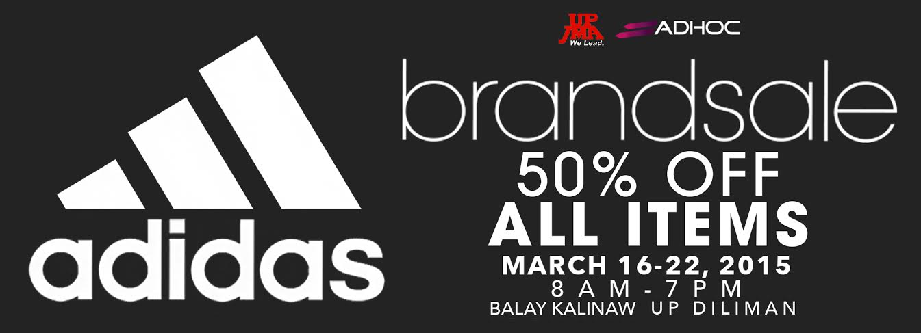 Adidas Brand Sale @ UP Balay Kalinaw March 2015