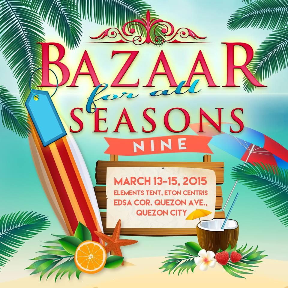 Bazaar For All Seasons @ Elements Tent, Eton Centris March 2015