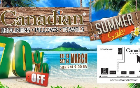 Canadian Bed & Bath Summer Sale March 2015