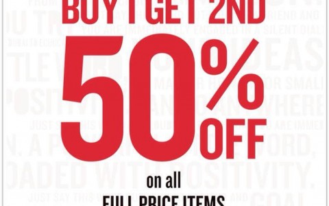 Cotton On Pre-Easter Sale March 2015