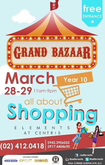 Grand Bazaar @ Elements, Eton Centris March 2015