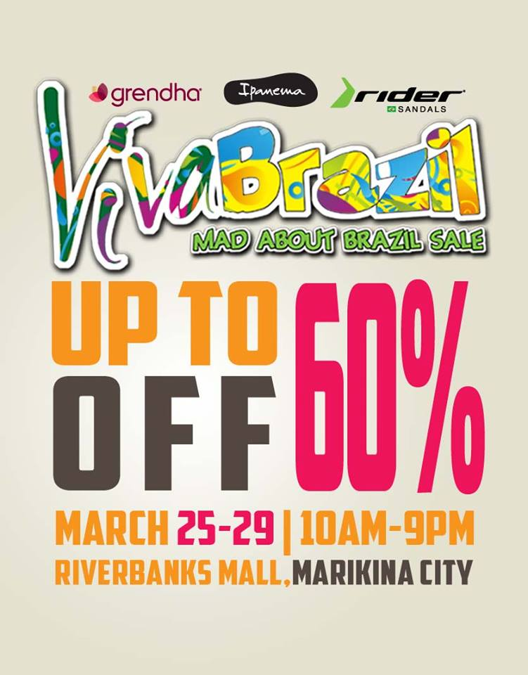 Ipanema, Grendha, Rider Sale @ Marikina Riverbanks March 2015