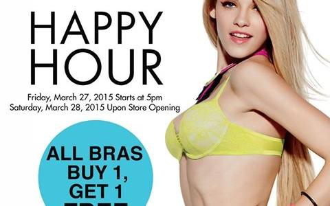 La Senza Happy Hour Sale March 2015
