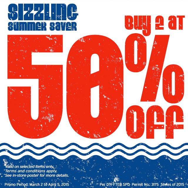 M+FG Sizzling Summer Saver March 2015