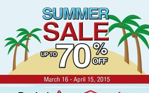 MJ46 Center Summer Sale March - April 2015