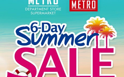 Metro Department Store and Super Metro Summer Sale March - April 2015