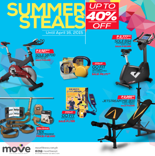 Move Summer Steals Sale March - April 2015