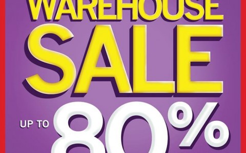 National Book Store Warehouse Sale @ SM Manila March 2015