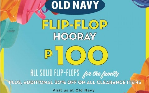 Old Navy Flip-Flop Hooray Promo @ Bonifacio High Street March 2015