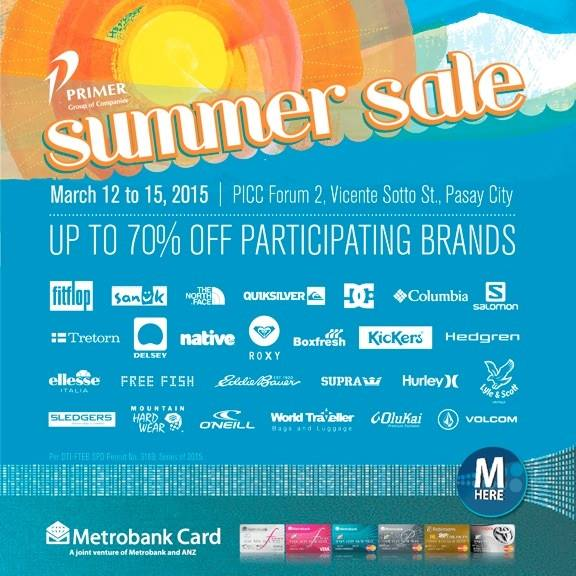 Primer Group's Summer Sale @ PICC Forum 2 March 2015