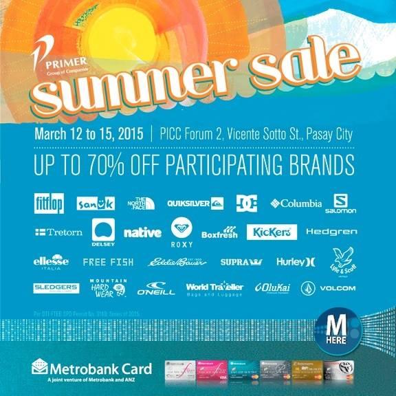 Primer Summer Sale @ PICC Forum 2 March 2015