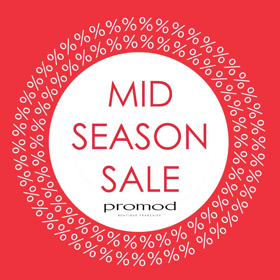 Promod Mid Season Sale March - April 2015