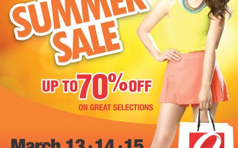Robinsons Malls Hot Summer Sale March 2015