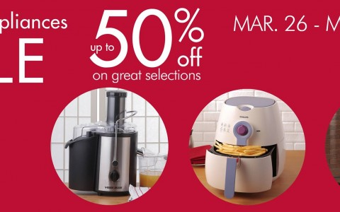 SM Home: Home Appliances Sale March - May 2015