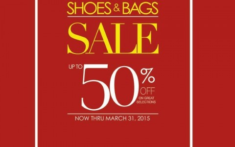 SM Shoes & Bags Sale @ The SM Store March 2015