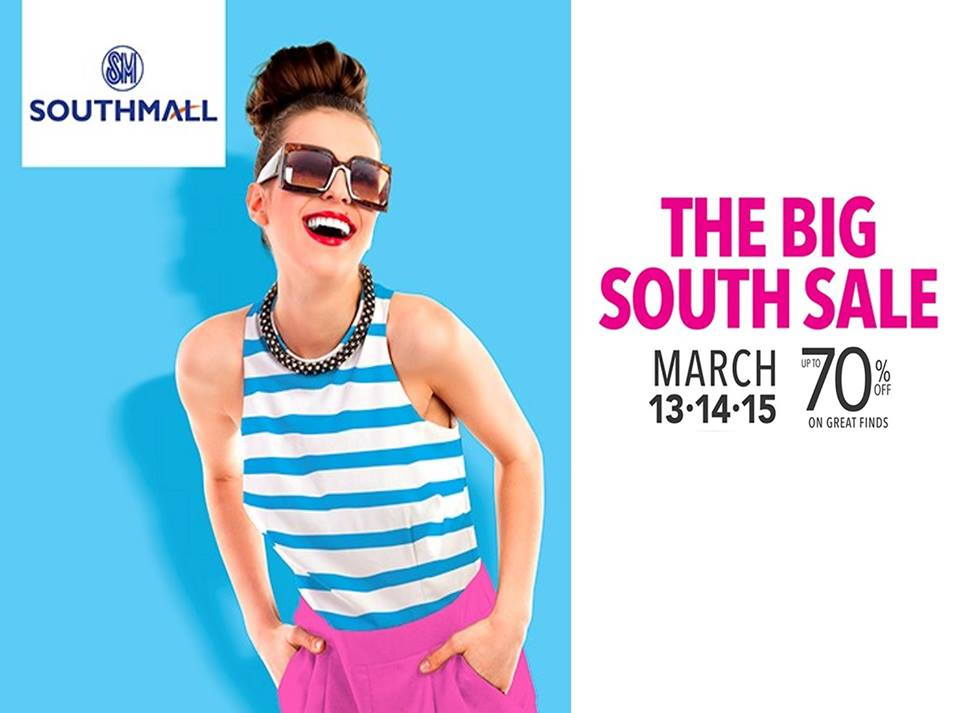 SM Southmall The Big South Sale March 2015
