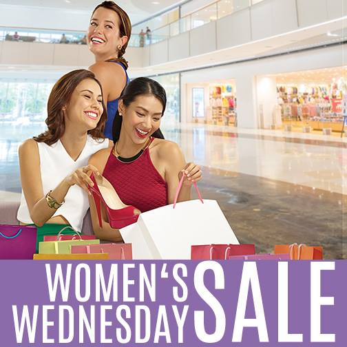 SM Supermalls Womens Wednesday Sale March 2015