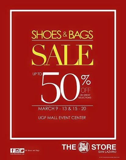 799268ab61cf Shoes   Bags Sale   SM City San Lazaro March 2015